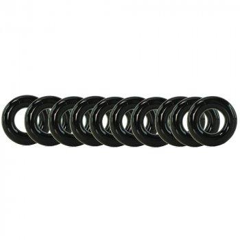 Nasstoys: My Ten Erection Rings - Tight Firm Rings - Black Image