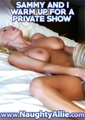 Sammy And I Warm Up For A  Private Show Image