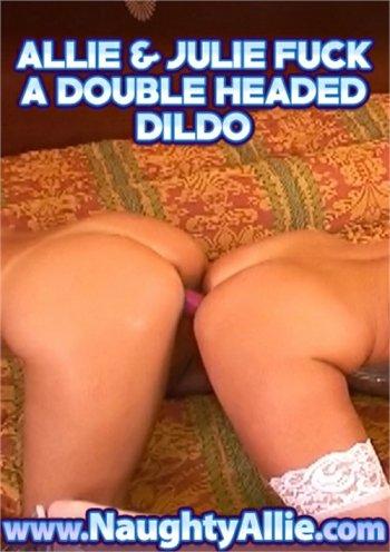 Allie & Julie Fuck A Double Headed Dildo Image