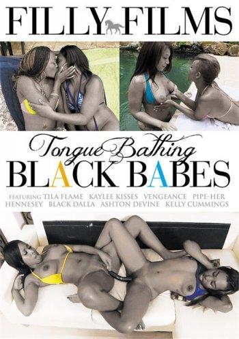 Tongue Bathing Black Babes Image