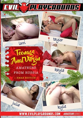 Teenage Anal Virgin Amateurs from Russia Xmas Edition Image