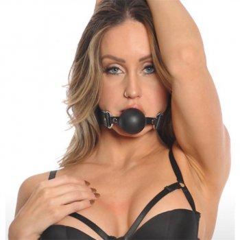 Bizarre Leather: Ball Gag - Black Image