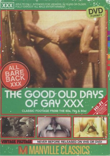 Good Old Days Of Gay XXX, The Image