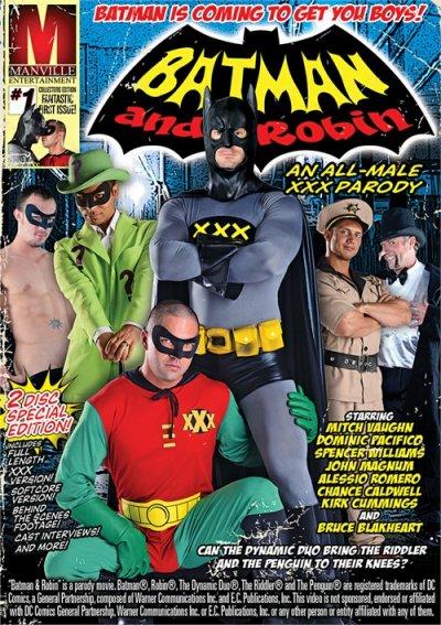 Batman And Robin: An All-Male XXX Parody