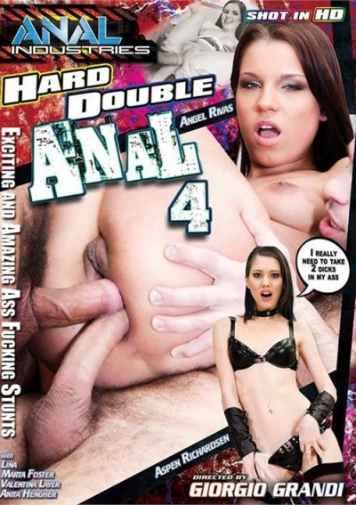 Hard double anal sex