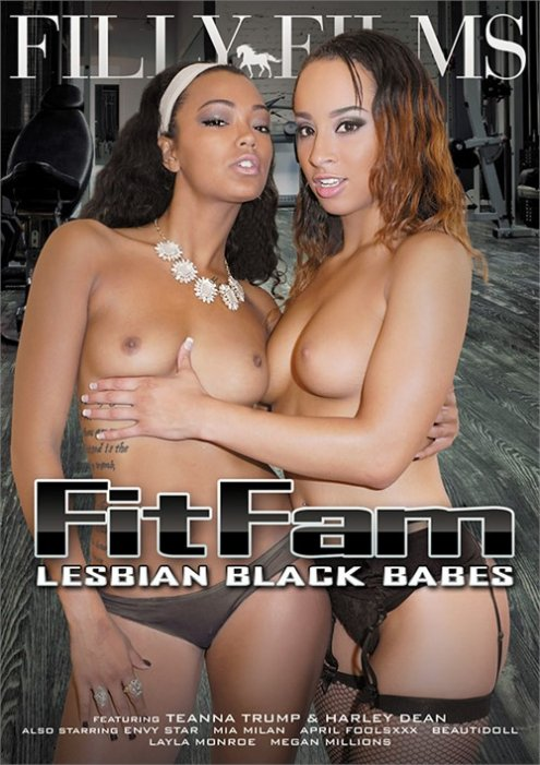 FitFam Lesbian Black Babes