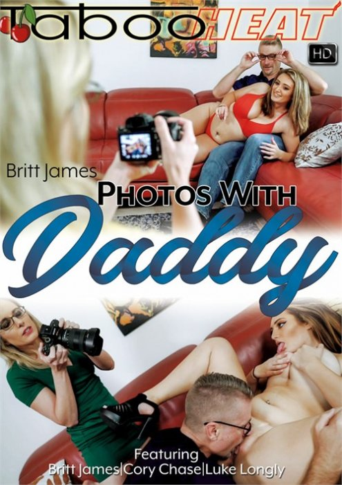 Britt James in Photos with Daddy