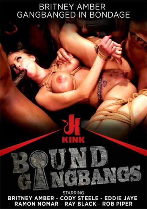 Britney Amber Gangbanged in Bondage