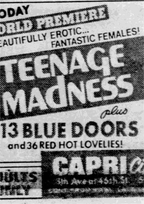 13 Blue Doors