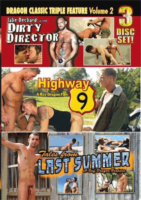 Dragon Media Classic Triple Feature Vol. 2: Dirty Director, Highway 9, Tales from Last Summer