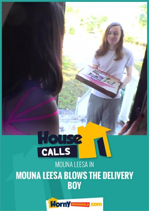 Mouna Leesa Blows The Delivery Boy