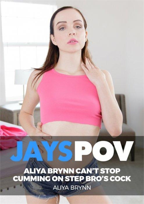 Horny Teen Step Sister Aliya Brynn Can't Stop Cumming On Bro's Cock