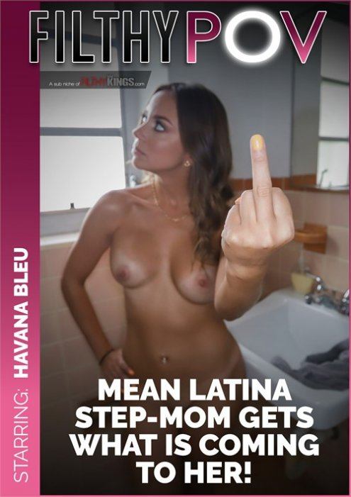 Mean Latina Step-Mom Gets What is Coming to Her and More From Big Dick Step-Son