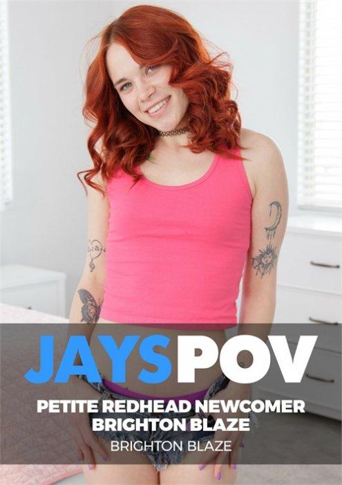 Petite Redhead Newcomer Brighton Blaze
