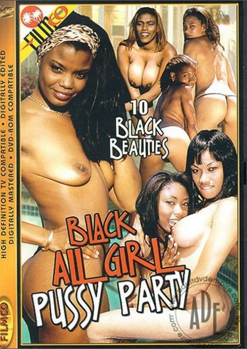 Black All Girl Pussy Party