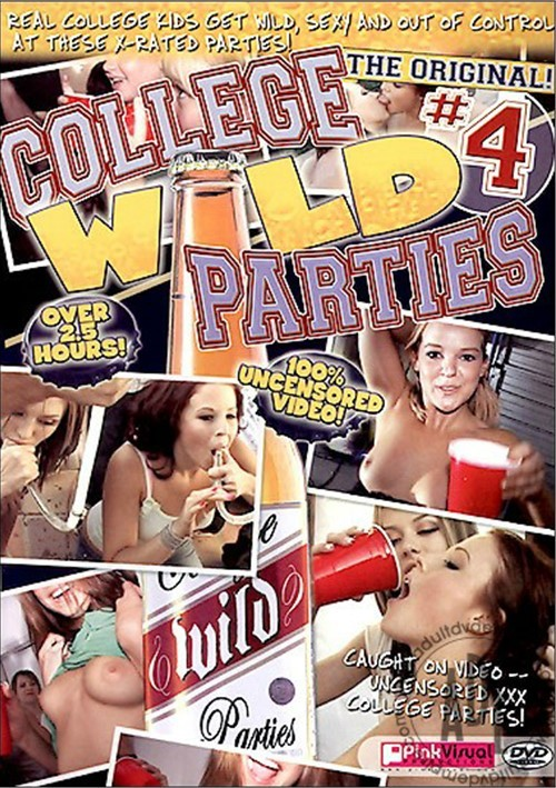 College Wild Parties #4 Boxcover