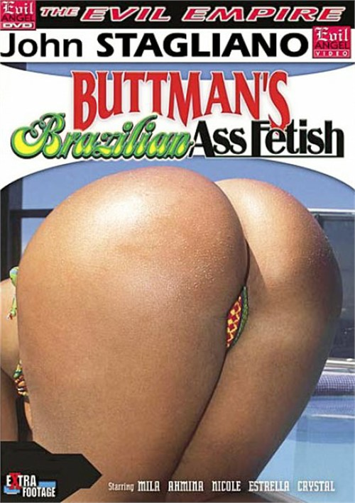 Buttman's Brazilian Ass Fetish Boxcover