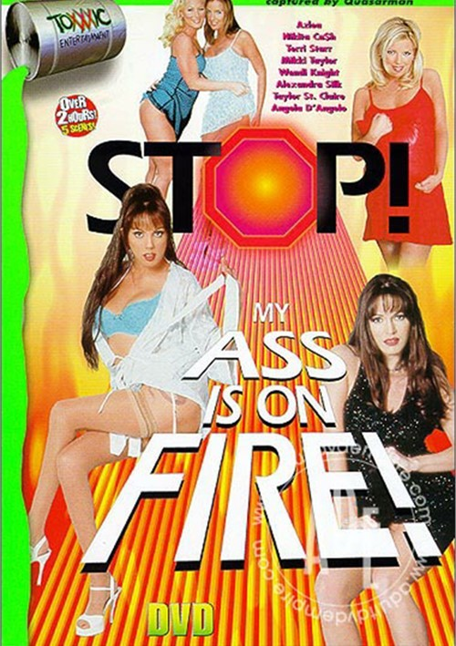 Stop! My Ass Is On Fire 1 Boxcover