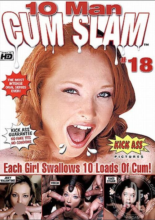 10 Man Cum Slam #18 Boxcover