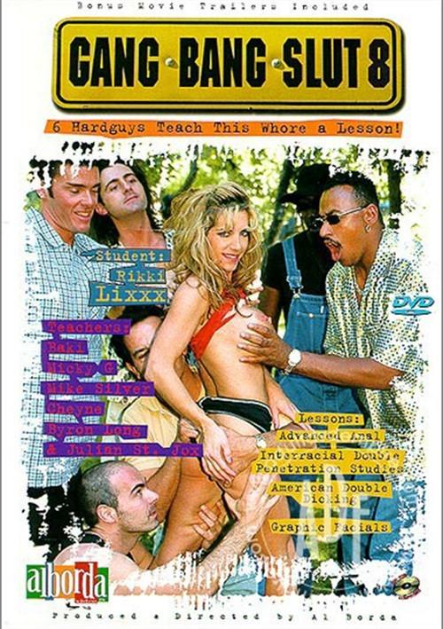 Gang Bang Slut 8 Boxcover