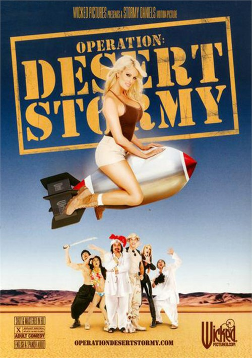 Operation: Desert Stormy Boxcover