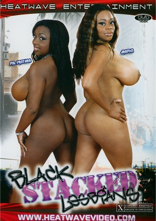 Black Stacked Lesbians Boxcover