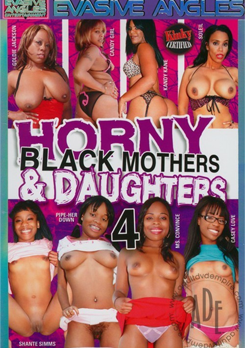 Daughters and black nude mothers