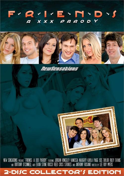 Friends: A XXX Parody Boxcover