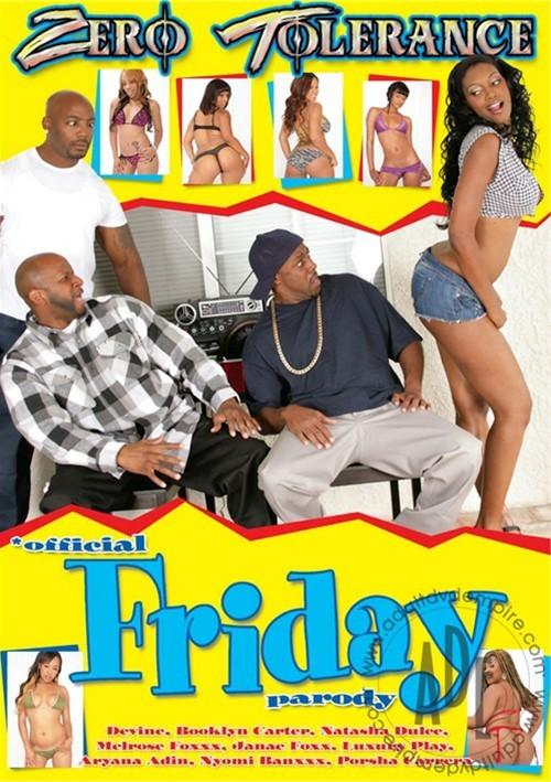 Official Friday Parody Boxcover