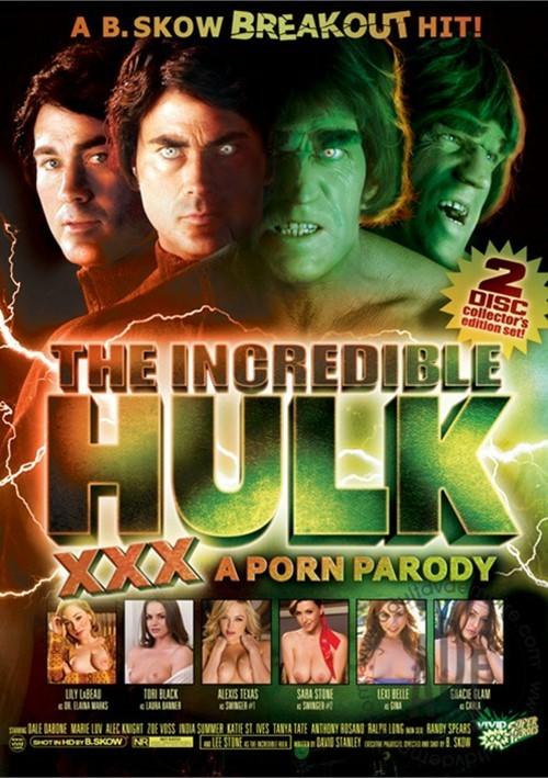 Incredible Hulk XXX, The: A Porn Parody Boxcover