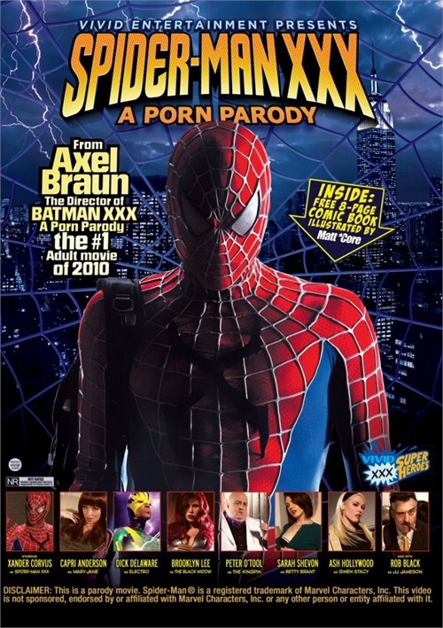 Spider-Man XXX: A Porn Parody Boxcover