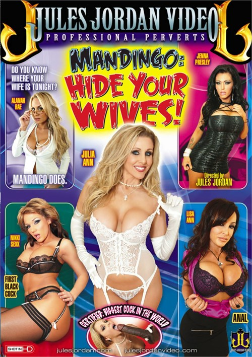 Mandingo: Hide Your Wives Boxcover