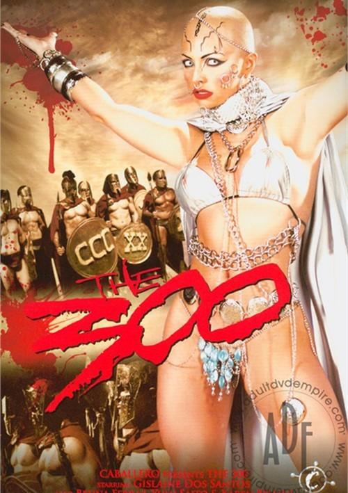 300, The: XXX Parody Boxcover