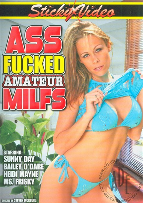 Ass Fucked Amateur MILFS Boxcover