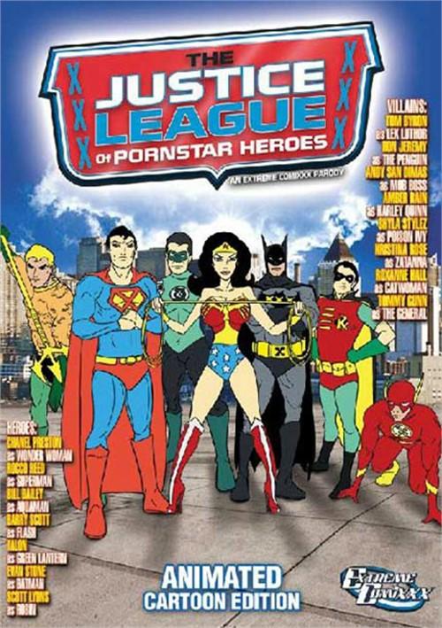 Justice League Of Pornstar Heroes: (Animated Cartoon Edition) Boxcover
