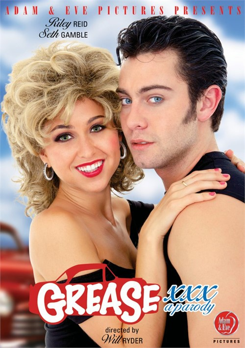 Grease XXX: A Parody Boxcover