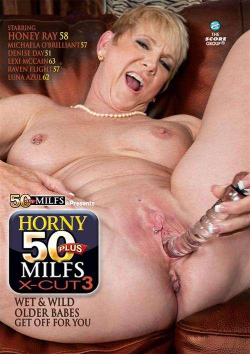 Horny 50 Plus MILFS X Cut 3 Boxcover