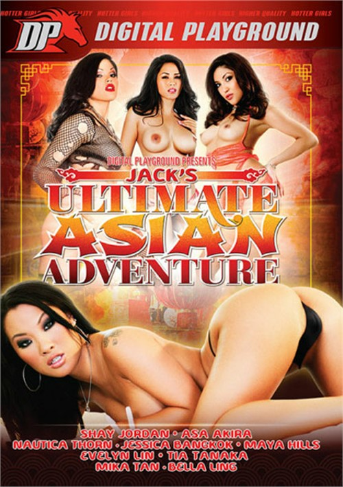 Jack's Ultimate Asian Adventure Boxcover