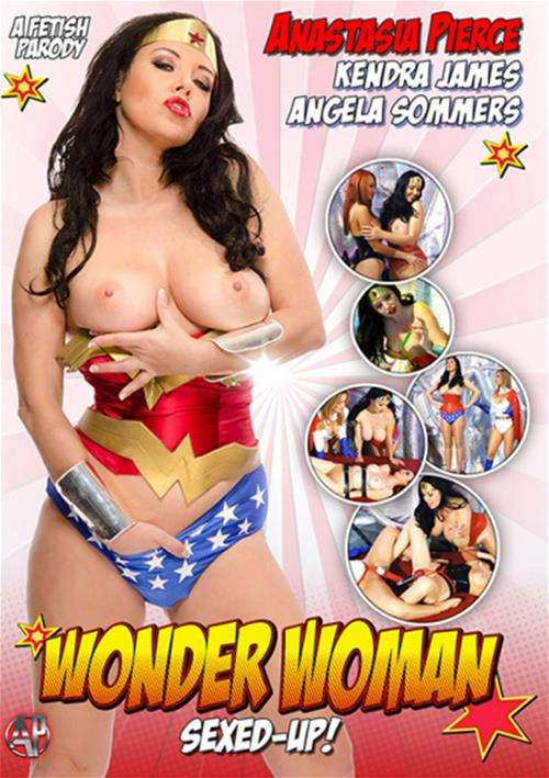 Wonder Woman Sexed-Up! Boxcover