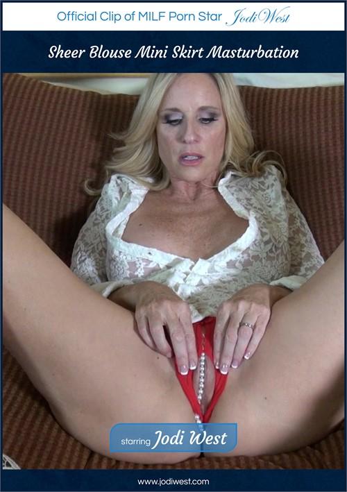 Sheer Blouse Mini Skirt Masturbation Boxcover