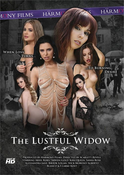 Lustful Widow, The Boxcover