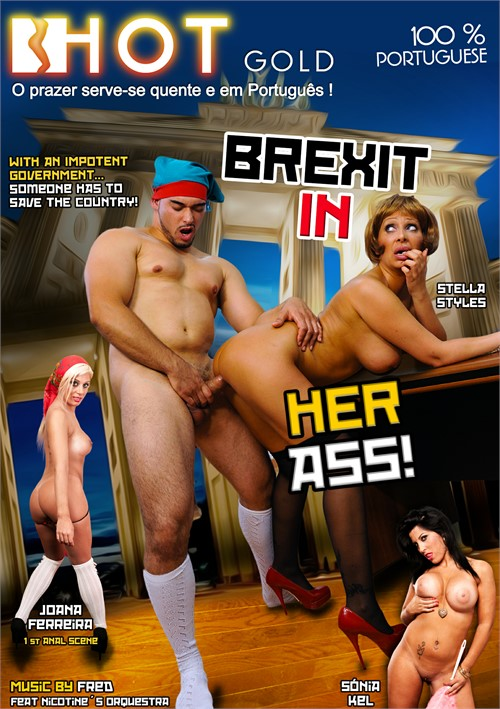 Brexit in Her Ass Boxcover