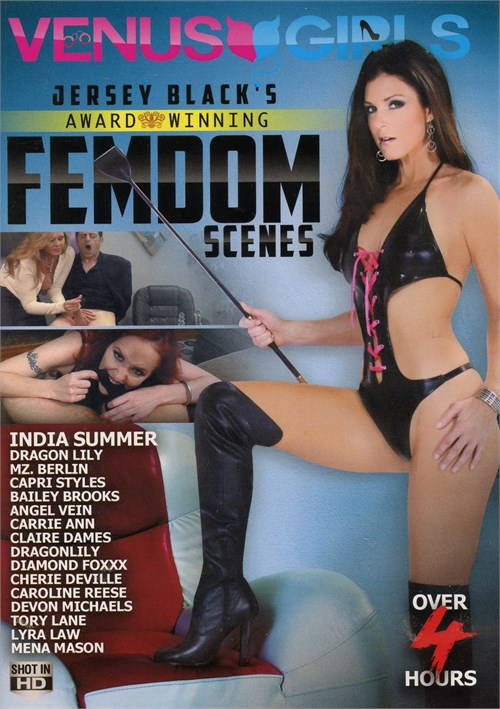 Jersey Black's Award Winning Femdom Scenes Boxcover