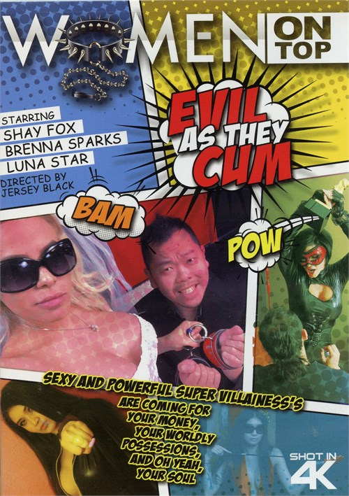 Evil As They Cum Boxcover