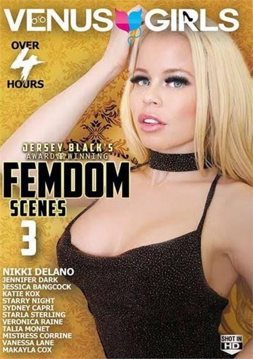 Jersey Black's Award Winning Femdom Scenes 3 Boxcover