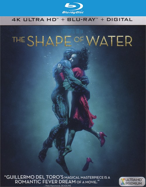 Shape of Water, The (4k Ultra HD + Blu-ray + UltraViolet)   Boxcover