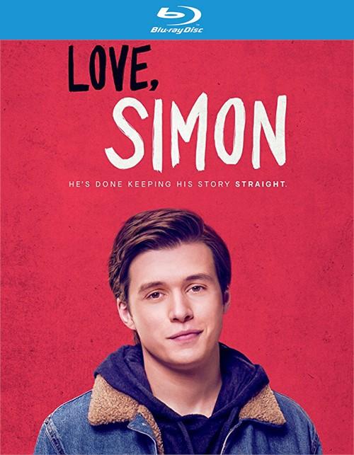 Love, Simon (Blu-ray + DVD + Digital HD) Boxcover