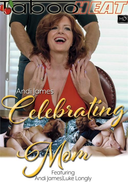 Andi James in Celebrating Mom Boxcover