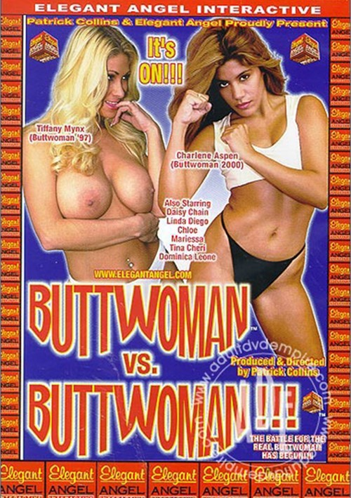 Buttwoman vs. Buttwoman Boxcover
