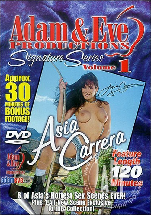 Signature Series Vol. 1: Asia Carrera Boxcover